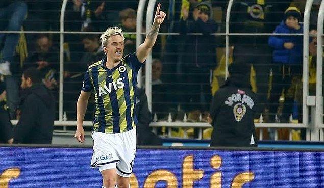 72.dakikada Fenerbahçe, Max Kruse'nin attığı golle 1-0 öne geçti. Ceza sahası önünde topu alan Kruse rakibin geçip plase bir vuruşla golü attı