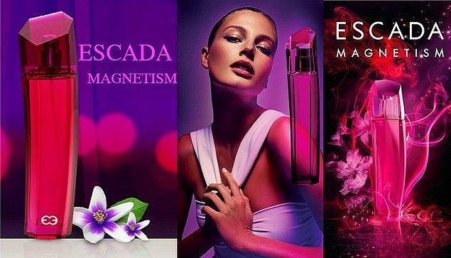 22. Escada-Magnetism: Kimileri için ağır bir koku olsa da en çok tercih edilenlerden biri.