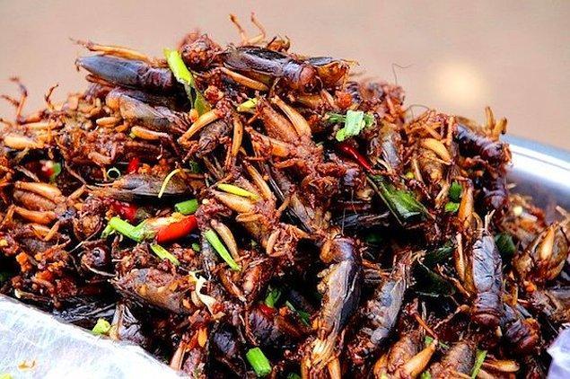 16. Bir dakikada en çok hamam böceği yeme