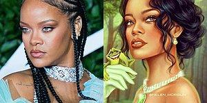 Знаменитости в стиле диснеевских персонажей: сходство невероятное!