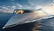 """Поговаривают, что Билл Гейтс купил роскошную яхту """"Sinot  Aqua"""" стоимостью 644 миллиона долларов"""