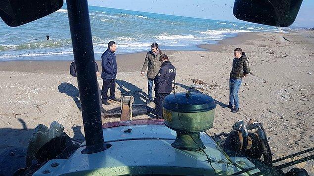 İnceleme yapıldı: Balıkçı ağına takılmış olabilir