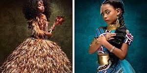 Как выглядели бы диснеевские принцессы, если они были афроамериканками (14 фото)