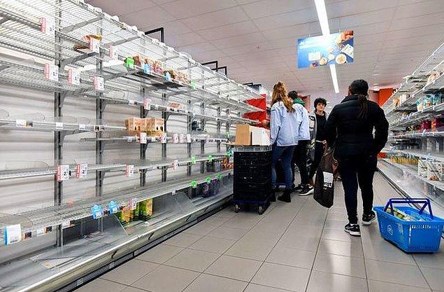 Özellikle süpermarkette alışveriş yaparken nasıl önlem almalıyım?