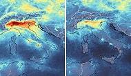 Снимки с космоса показывают резкое снижение загрязнения окружающей среды во время карантина из-за коронавируса