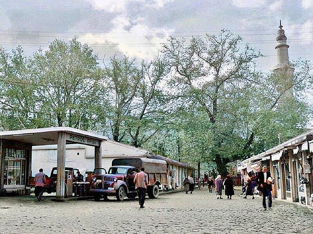 20. Bursa manzaraları, 1960.