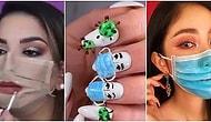 Безумная тенденция коронавируса, которая захватила мир моды и макияжа