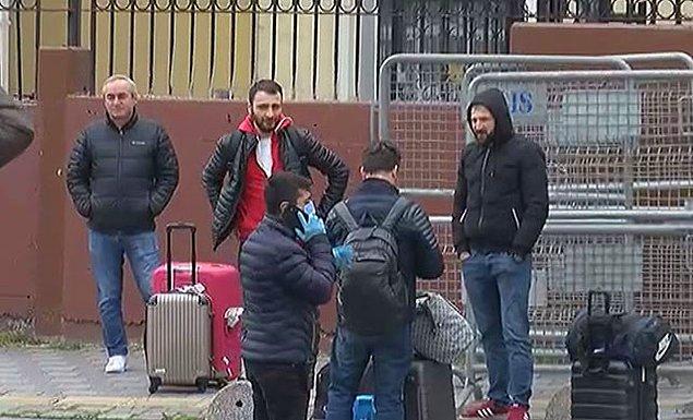 İstanbul'da karantina yurtlarından tahliyeler başladı