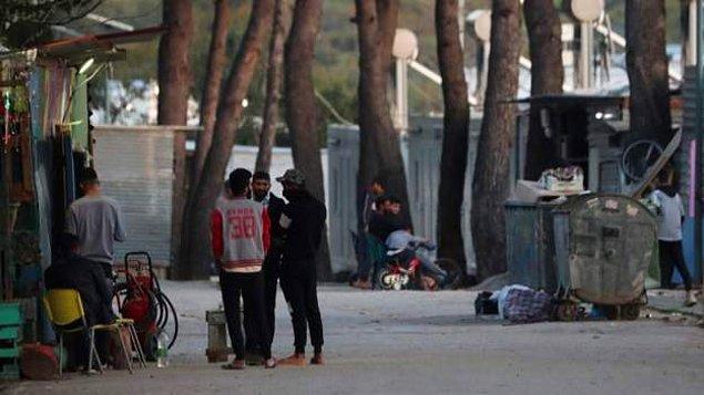 Yunanistan'da Ritsona göçmen kampı karantinaya alındı