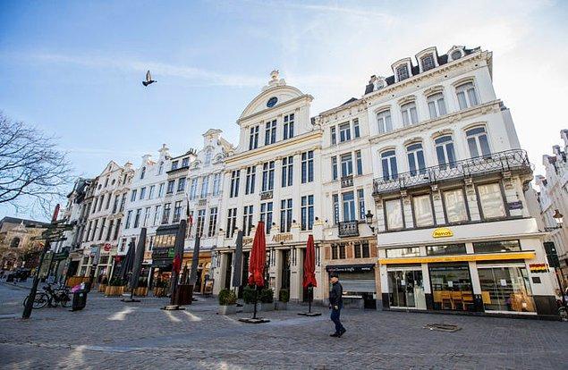 Belçika'da Kovid-19 vaka sayısı 44 bini aştı
