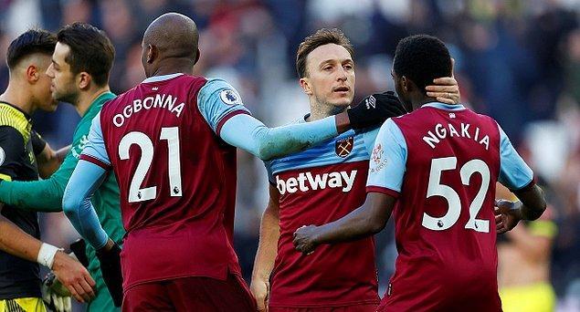 13. İngiltere Premier Lig ekiplerinden West Ham United'da futbolcular ile teknik heyet, maaşlarının bir bölümünün ertelenmesini kabul etti.