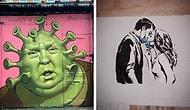 12 самых правдивых граффити, связанных с коронавирусом