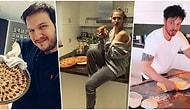 Herkes Mutfakta! Karantina Günlerinde Can Sıkıntısından Kendini Yemeğe Veren Ünlülerden Birbirinden Renkli Görüntüler