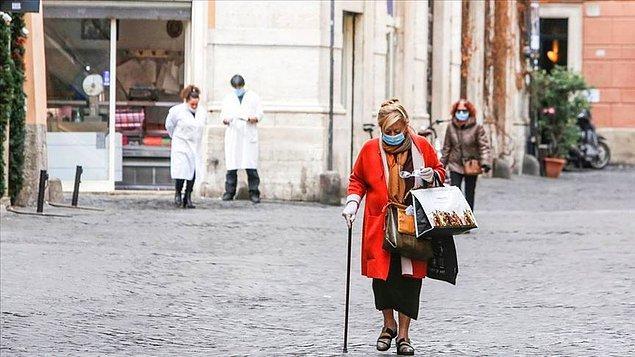 İtalya'da can kaybı 21 bin 645'e yükseldi