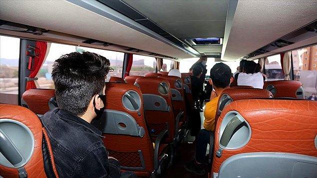 Sahte seyahat belgeleriyle otobüsle Van'a gelen 22 kişi yakalandı