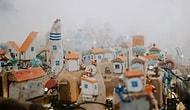 39 захватывающих миниатюр, которые сделал русский художник из 50 килограммов пляжного мусора