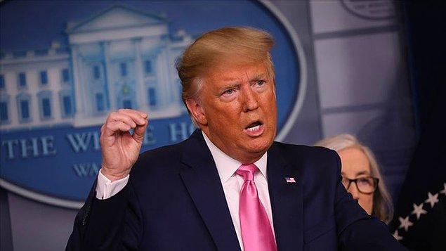 Trump ABD'ye göçmen kabulününün 60 gün süreyle askıya alınacağını duyurdu