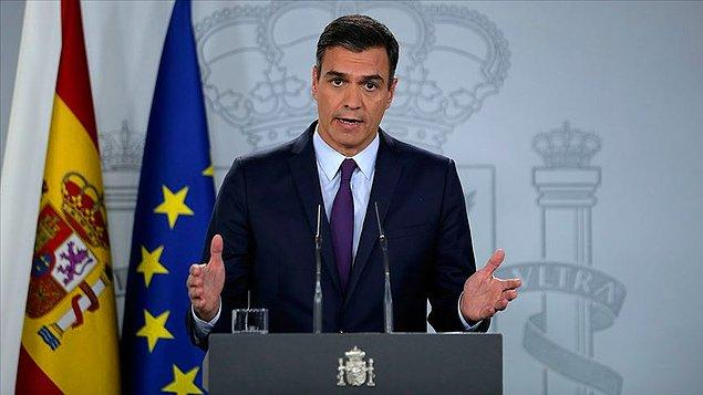 """İspanya Başbakanı: """"Kısıtlamaları Mayıs ortasından sonra aşama aşama gevşeteceğiz"""""""