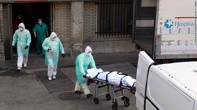 İspanya'da ölü sayısı 21 bin 717 oldu