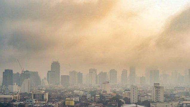 Son beş yılda, en yüksek hava kirliliği 2017'de