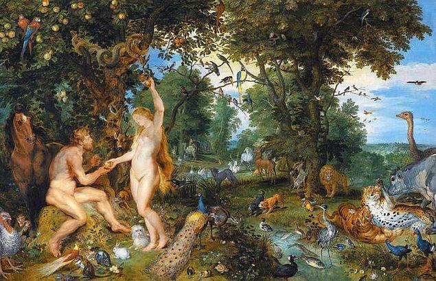 2. İncil'de, Adem ve Havva'nın yediği yasak meyvenin elma olduğuna dair bir söylem yoktur.