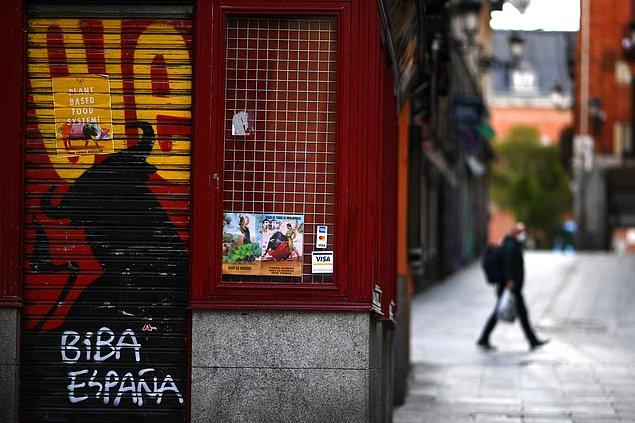 İspanya'da ölü sayısı 22 bin 157'ye yükseldi