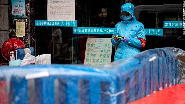 Çin'de sadece 6 yeni vaka