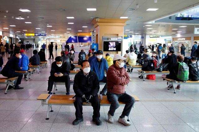 Güney Kore'de 39 gündür ilk kez son 24 saatte koronavirüsten ölen yok