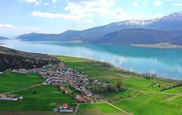 Beyşehir Gölü'ndeki 30 adanın en büyüğü