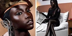 Красота 10 самых популярных африканских моделей с очень темной кожей