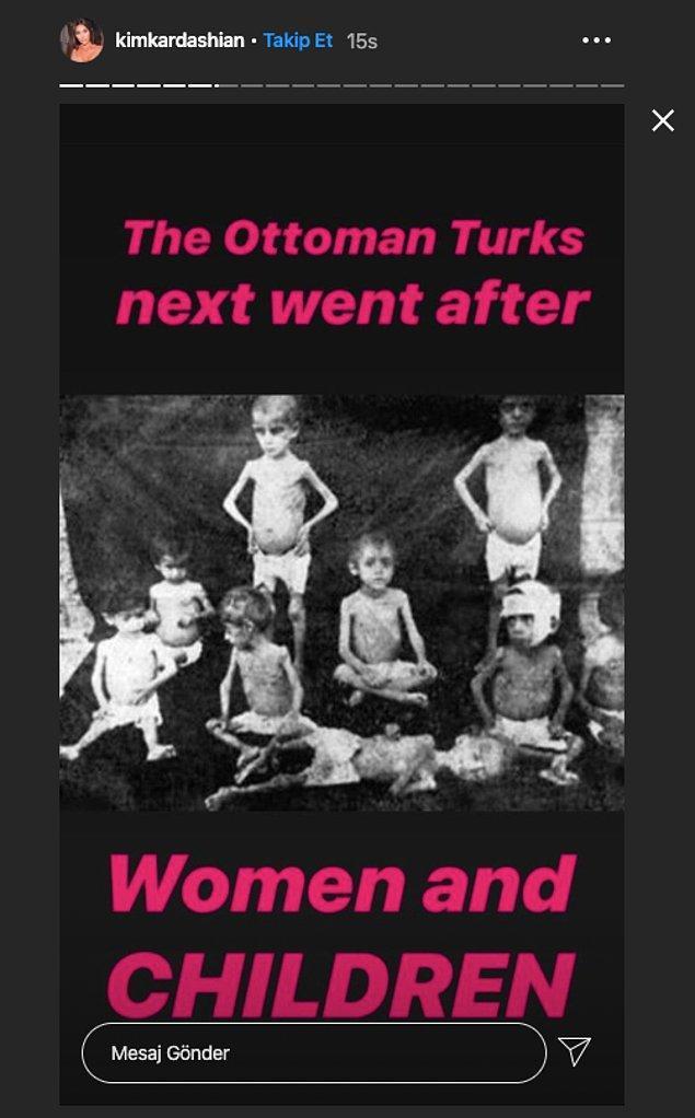 """""""Osmanlı Türkleri daha sonra kadınları ve çocukları öldürdüler."""""""