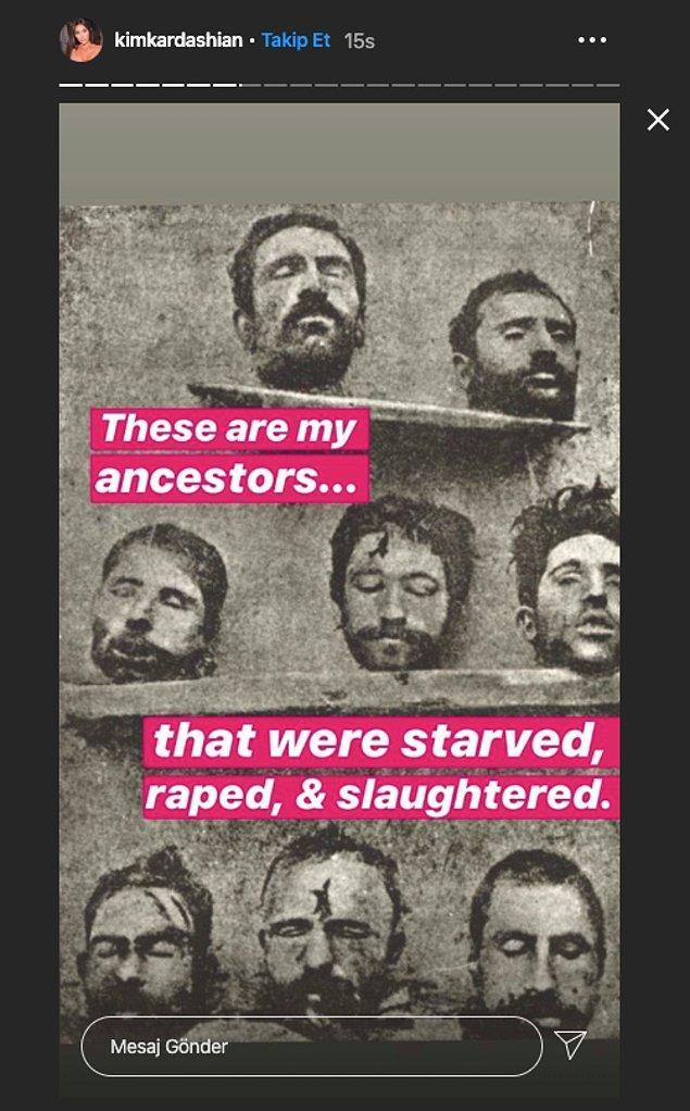 """""""Bunlar benim atalarım... Aç bırakıldılar, tecavüze uğradılar ve katledildiler."""""""
