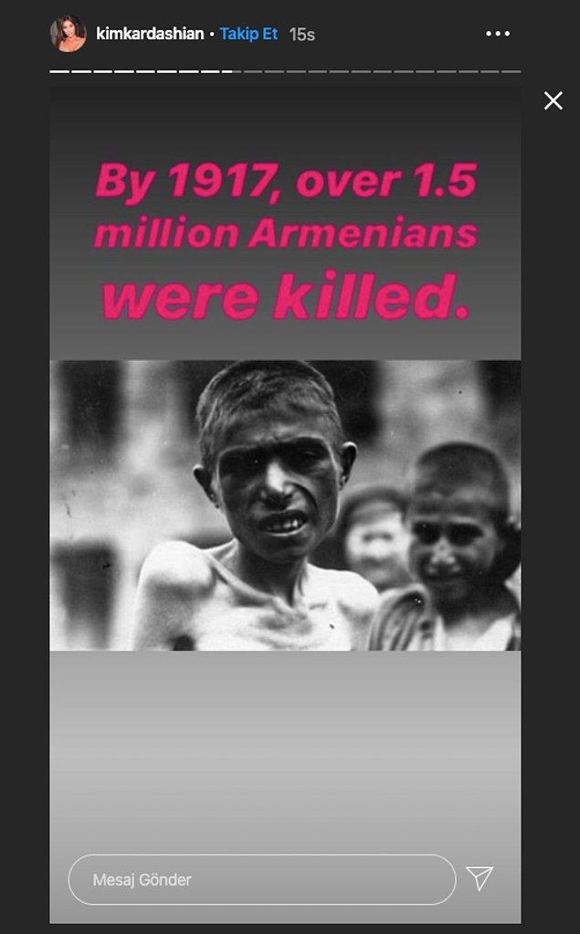 """""""1917'ye kadar 1.5 milyondan fazla Ermeni öldürüldü."""""""