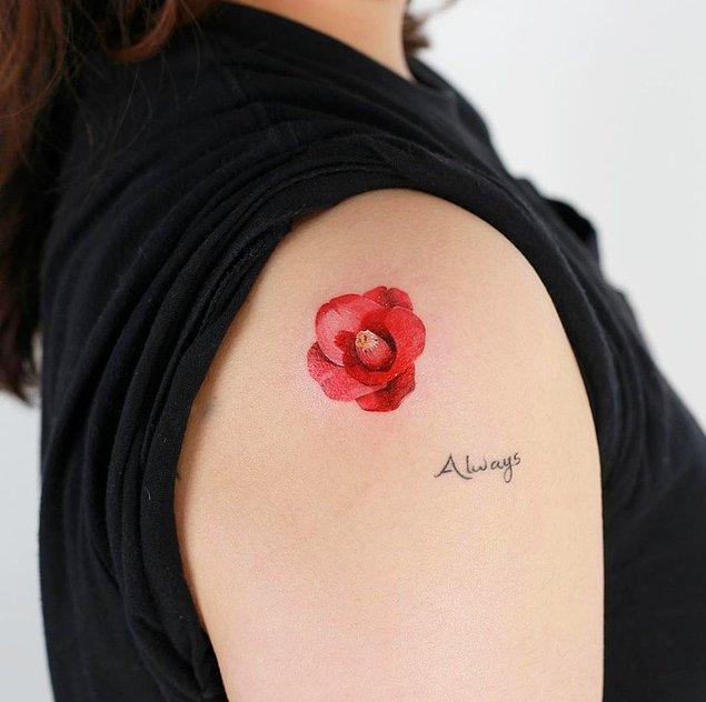 8. Çok güzel bir çiçek daha: