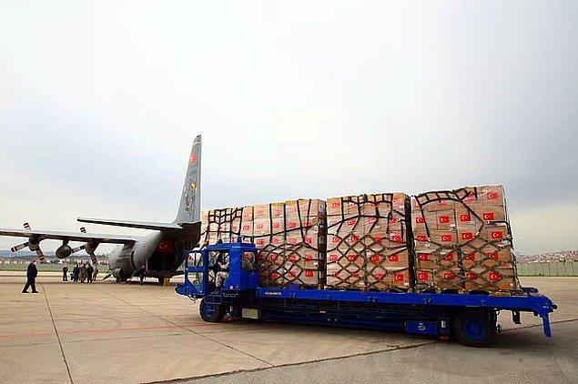 Türkiye'den ABD'ye iki uçak sağlık malzemesi