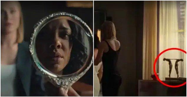 18. Sezon boyunca Dolores ve Charlotte'la doğrudan bağlantılı birçok ayna imgesi var. Bu görüntüler Charlotte'ın gerçek kimliğiyle alakalı bir başka ipucu olarak dizide yer alıyor.