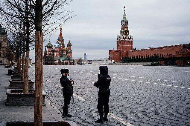 Rusya'da yeni vaka sayısında rekor