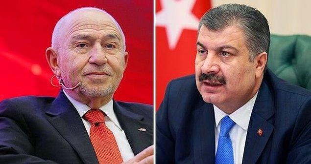 Birçok soru işareti varken alınan bu karar için Sağlık Bakanı Fahrettin Koca da ''Ligler konusunda sorumluluk TFF'nin'' demişti.