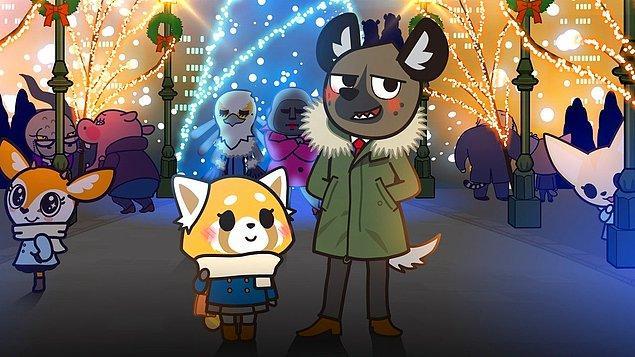 "15. ""Aggretsuko"" We Wish You a Metal Christmas (2018)"
