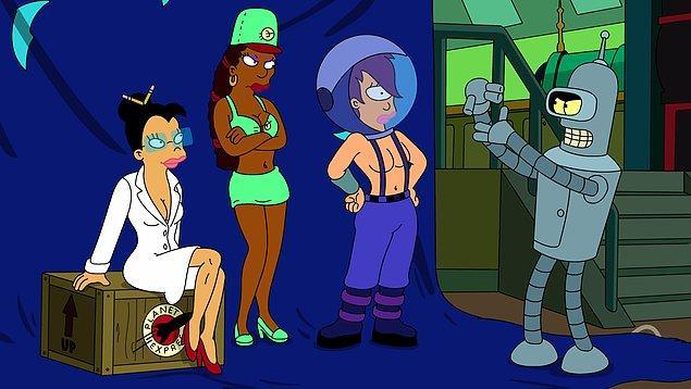 5. Futurama (1999 - 2013)