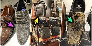 Вы будете очень удивлены, увидев, во что превратились товары из кожи в магазине, который был закрыт 53 дня из-за коронавируса!