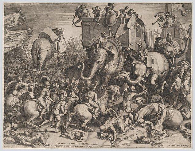 Bu inzivadan da faydalanarak toparlanan Roma Ordusu'nun başında bu sefer Hannibal'ın taktiklerini iyi öğrenmiş genç Scipio Africanus vardır.