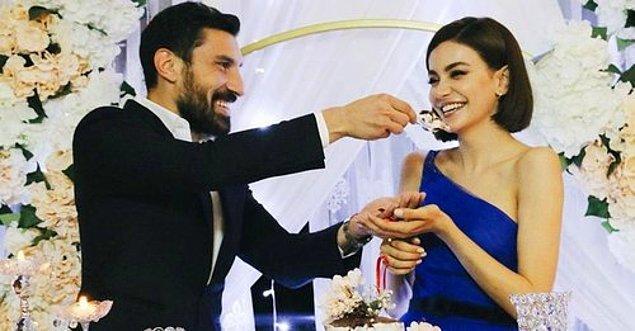 Şener Özbayraklı ile şubat ayında nişanlanmışlardı.