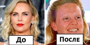 Магия голливудского макияжа. 30 снимков до и после, показывающих, сколько усилий вложено в создание героев