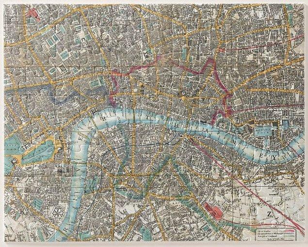 15. Londra'daki her bir evin ve sokağın otantik görüntüsüyle hazırlanmış bu puzzle sizce de harika değil mi?