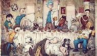 30 жутких иллюстраций в стиле комиксов от бразильского художника