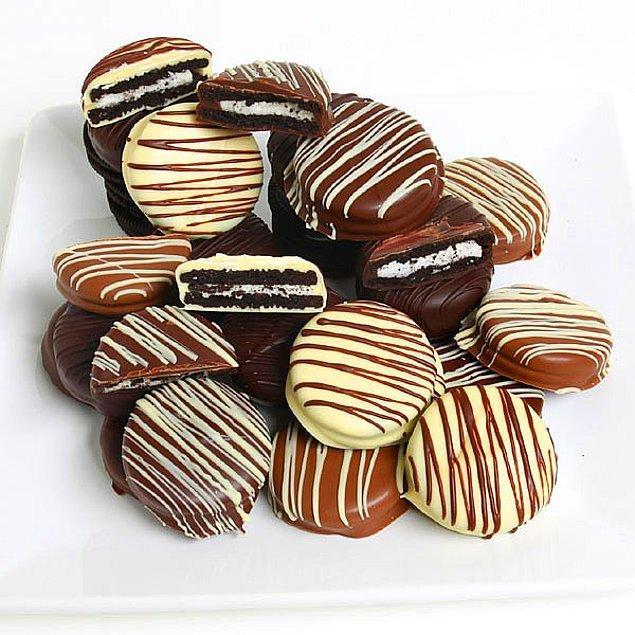 8. En sevdiğiniz bisküviyle: Çikolatalı Bisküvi