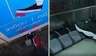 В Тайланде в целях борьбы с коронавирусом появился лифт, который можно управлять ногами