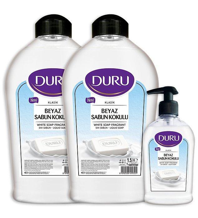 10. Bu aralar en çok kullandığımız şey sabun. Listenin başında olmayınca belki unuttum sandınız ama yanıldınız.