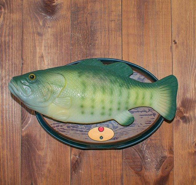 7. Duvarlardaki şarkı söyleyen balık